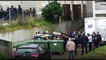 Fransız polisinin lise öğrencilerini diz çöktürerek gözaltına aldığı görüntüler tepki çekti