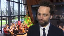 Another 'posh party' for Matthew Rhys