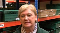 Foodbank inundated with traveller donations