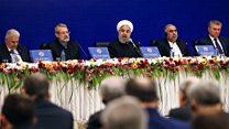 هشدار حسن روحانی به غرب: مراقب اثر تحریمها روی بحث مواد مخدر، تروریسم و آوارگان باشید