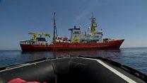 کشمکش بر سر کشتیهای نجات در مدیترانه