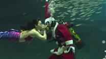 ما الذي يفعله بابا نويل قبل ليلة عيد الميلاد؟