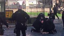 'Intruder' held at UK parliament