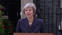 ماي: سأتصدى بكل قوة لاقتراع سحب الثق في البرلمان