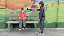 How 'Buddy Benches' are making playtime less lonely