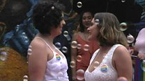 Why gay couples in Brazil are rushing to marry