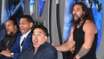 Stars perform Haka at Aquaman premiere