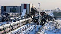 کشته و 47 زخمی در تصادف یک قطار در آنکارا ترکیه9