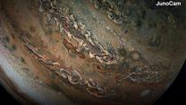 Захопливі кадри Юпітера крупним планом