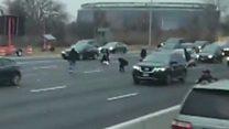 Money spill sparks highway cash grab
