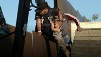 اعتقال مهاجر وابنه فور عبورهما إلى الولايات المتحدة