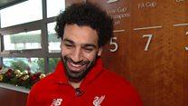 محمد صلاح يفوز بجائزة بي بي سي لأفضل لاعب أفريقي
