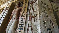 Así es la asombrosa tumba de 4.400 años que hallaron intacta en Egipto