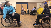 Wheelchair dance tips for new bride