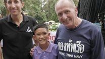 Thai cave rescuer praises boys' resilience
