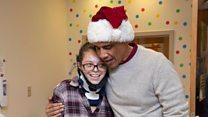 Obama surprises children's hospital