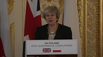 May's message to Poles in UK - in Polish
