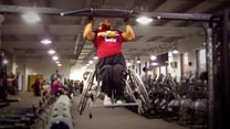Disabled personal trainer