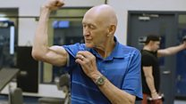 The 90-year-old back-flipping daredevil