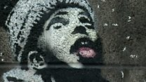 Banksy snow mural 'no coincidence'