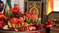 شب یلدا و فال حافظ چشمانداز بامدادی