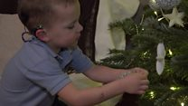 The 'magic ear's making it a Christmas to remember for little Ben