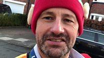 'The world's happiest postman?'
