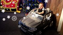 The ultimate gift for a car-mad child?