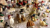 At home with 1,000 snowmen