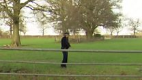 Police in fields in search for drone