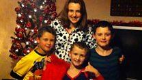 Single mum's Christmas letter to children