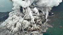 Bagaimana gunung berapi bisa menyebabkan tsunami?