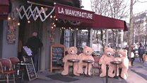 The bears bringing joy to Paris
