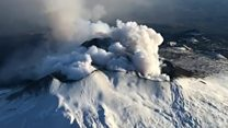 Mount Etna has 'flank eruption'