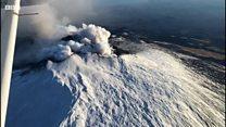 Etna Yanardağı faaliyete geçti, onlarca deprem meydana geldi