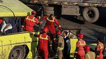 سانحه اتوبوس در دانشگاه آزاد ۹ کشته به جا گذاشت