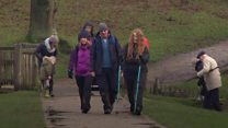 Boxing Day ramblers trying to combat loneliness