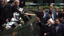 شما؛ بودجه ۹۸ ایران؛ حسن روحانی: اعتراضات دی ۹۶ در خروج آمریکا از برجام موثر بود#