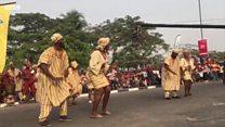 Ijó Bàtá ti Yorùbá gb'oríyìn ní Calabar Festival 2018