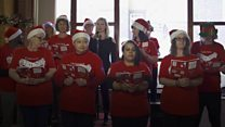 Top chef treats veterans with Christmas lunch