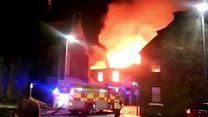 Firefighters tackle Greenock building blaze