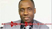 'E ji akwa Naija nke abụọ egwu Ndigbo chandum'
