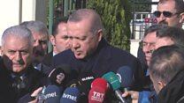 Erdoğan: Kesinleşmiş bir şey yok