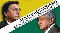 En qué se parecen y en qué no AMLO y Bolsonaro, los nuevos presidentes de los países más grande de América Latina