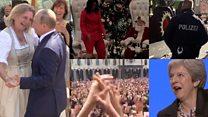 Путин, Мэй и робот SpotMini: кто и как танцевал в 2018 году