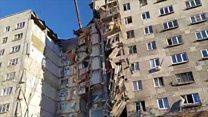 Взрыв в многоэтажке в Магнитогорске
