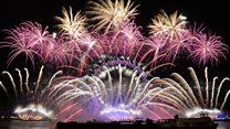 The team behind London's NYE fireworks