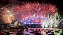 2019年:世界各地で新年の花火