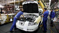 آشفتگی در صنعت خودروسازی در ایران