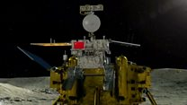 Chinese spacecraft lands on far side of Moon